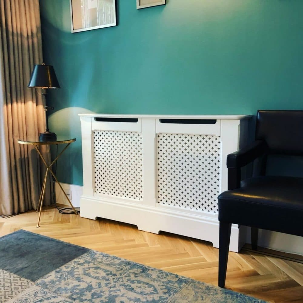 Chiltern Radiator Cover in sitting room
