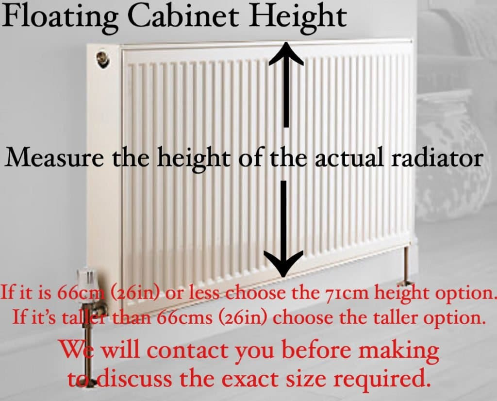 Floating Cabinet Height
