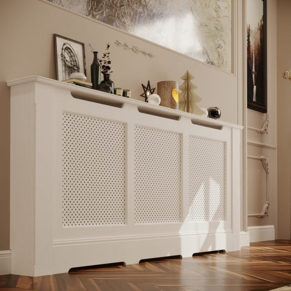 Extra Large Regency Radiator Cabinet with diamond grille in West Midlands