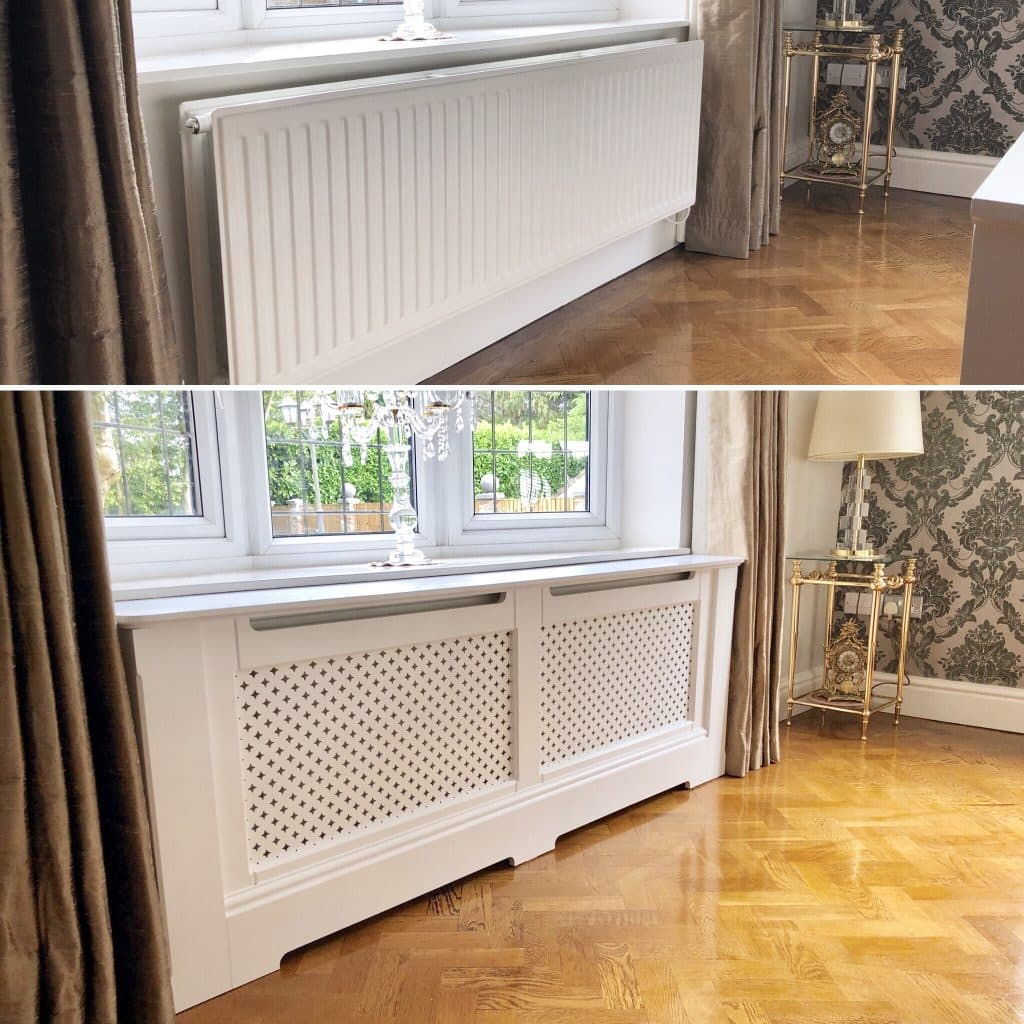 Made to order radiator cabinet